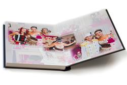 album fotográfico visão das páginas