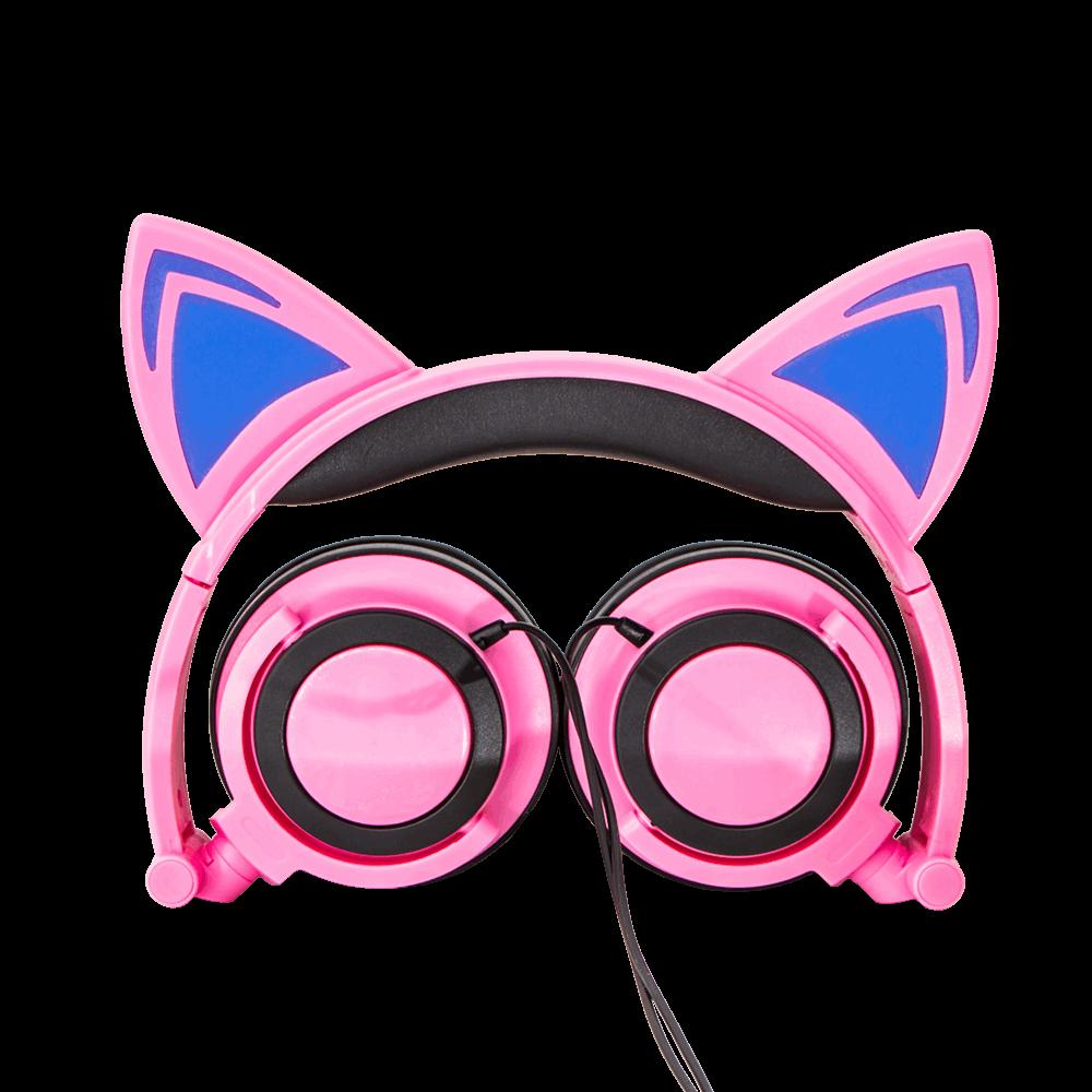 headphone de gatinho em fotografo de produtos