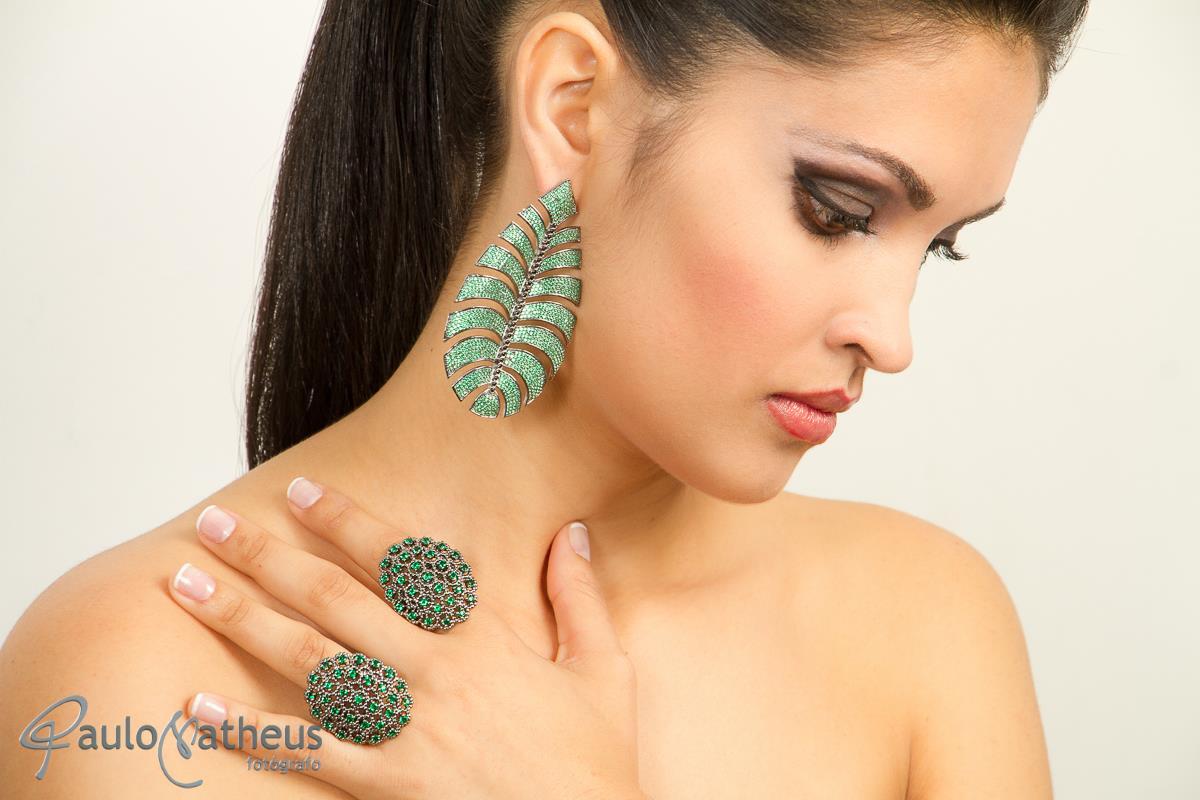 fotografia de produtos semi-jóia