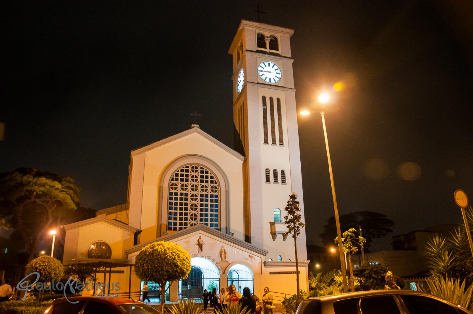 Paróquia São Vicente de Paulo por paulo matheus fotógrafo de casamento no ABC
