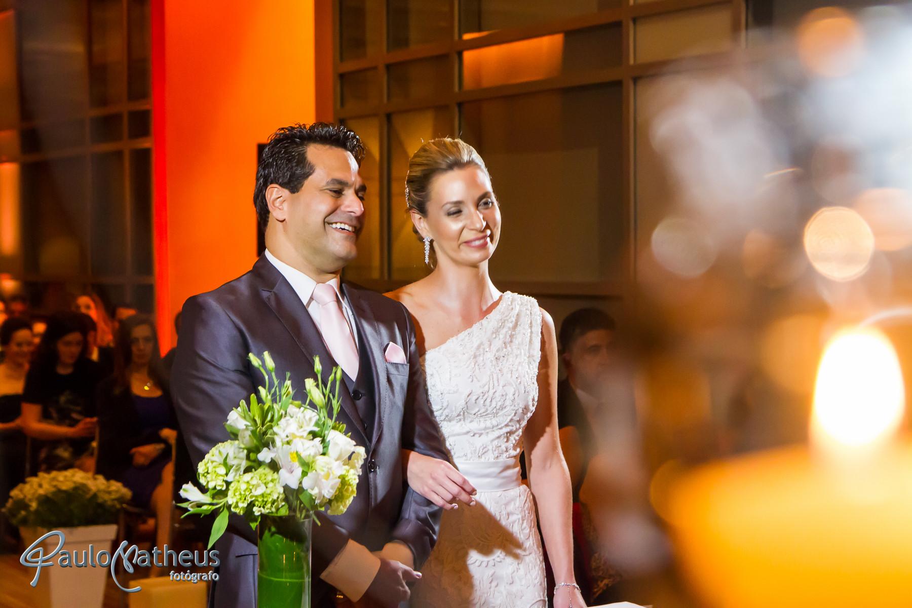 Fotógrafo de casamento registrou o Casamento no Hotel Hyatt