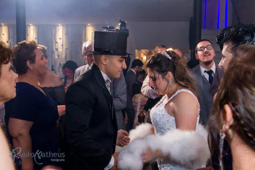 recepção no casamento no abc