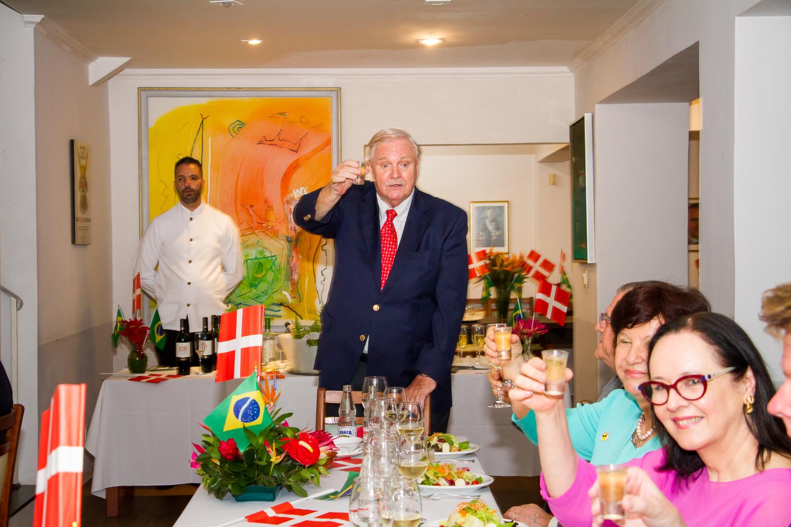 visita da Princesa Benedikte da Dinamarca no Brasil