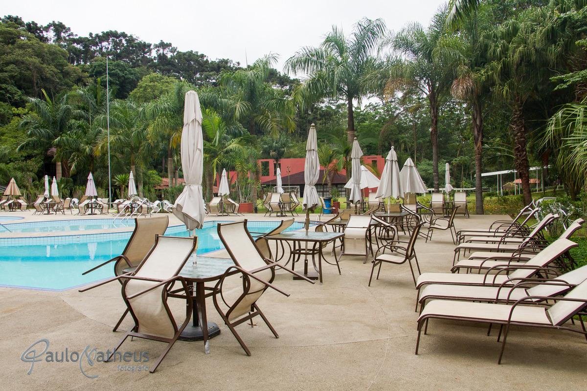 Piscina do Hotel Rancho Silvestre confraternização da empresa Liotécnica