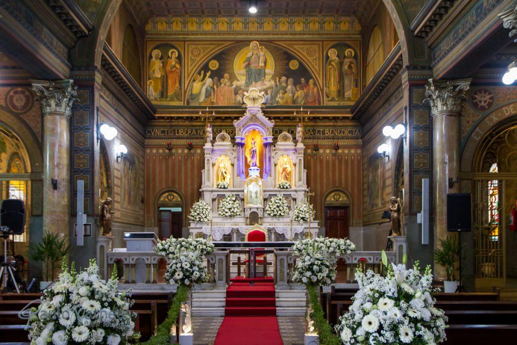 Santuário Eucarístico Nossa Senhora da Penha no bairro da Penha