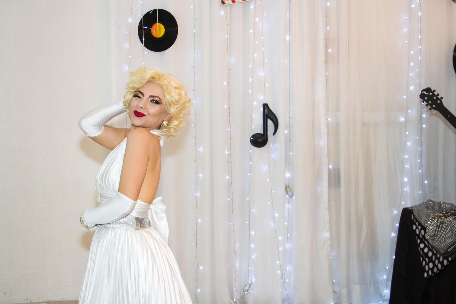 Festa de confraternização com Marilyn Monroe por Paulo Matheus Fotógrafo