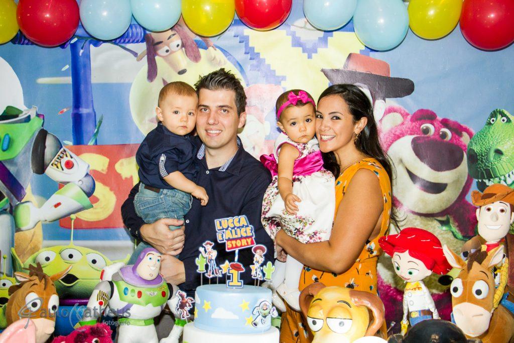Fotografia de festa de aniversário