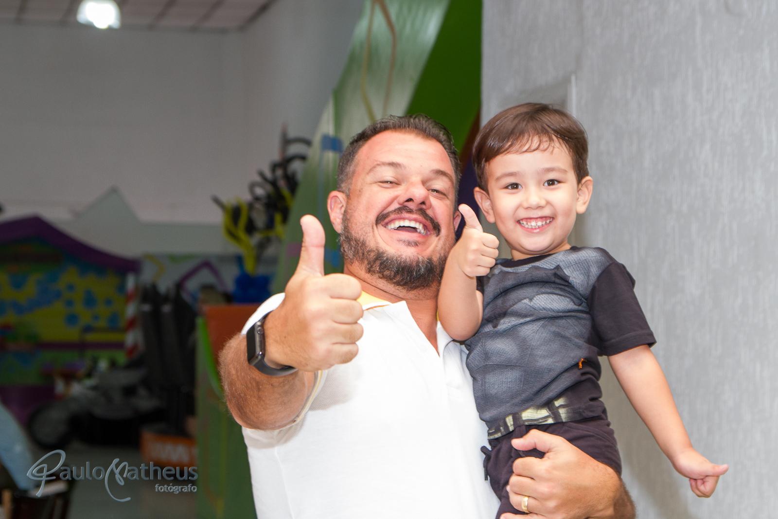 Fotógrafo para festa infantil no aniversário de 4 anos do Davi