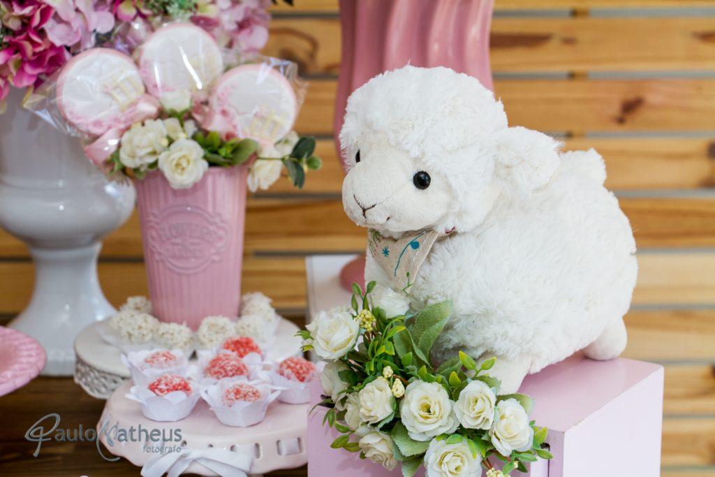 festa de um ano decoração de carneiro