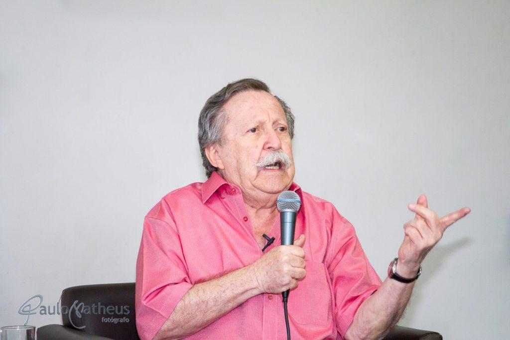 Escritor Pedro Bandeira no Aniversário da Biblioteca de São Paulo
