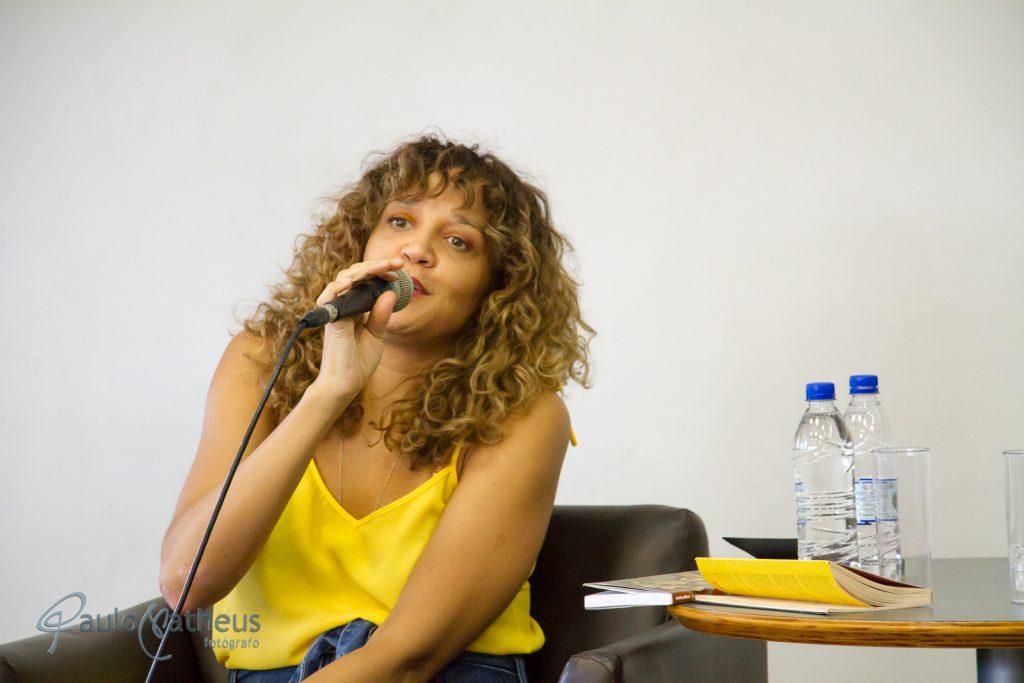Roberta Estrela D'Alva Aniversário da Biblioteca de São Paulo